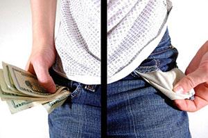 Ricco vs povero