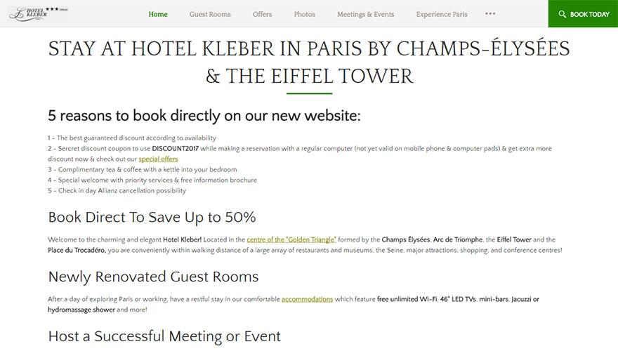 Hotel Kleber
