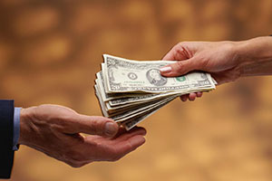 Commissione in denaro