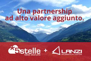 Partnership Lanzi Informatica e 5stelle*