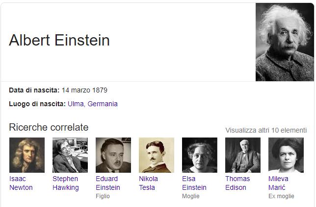 snippet ricerche google